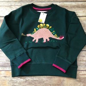 Mini Boden Dino sweatshirt